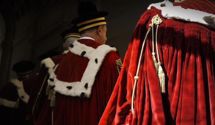 Inaugurazione anno giudiziario 2013, le toghe rosse